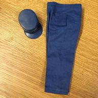 VINTAGE ACTION MAN - AIR POLICE TROUSERS & CAP